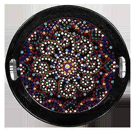 Huntsville Mosaic Mandala Tray