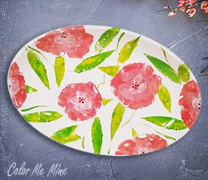 Huntsville Floral Paper Stamping