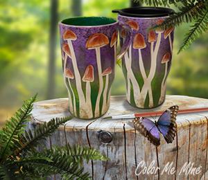 Huntsville Mushroom Mugs