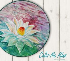 Huntsville Lotus Flower Plate