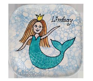 Huntsville Mermaid Plate