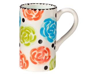 Huntsville Simple Floral Mug