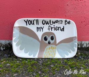Huntsville Owl Plate
