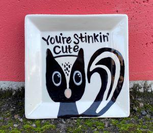 Huntsville Skunk Plate
